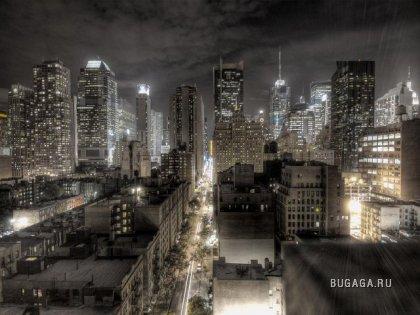 Города ночью ч.2 (17 фото)