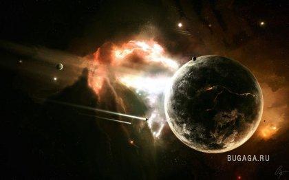 Космическая фантазия (14 фото)