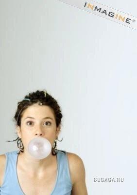 пузыри из жвачки