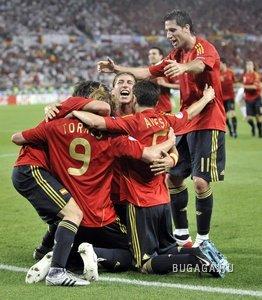 Испания - Чемпион EURO 2008