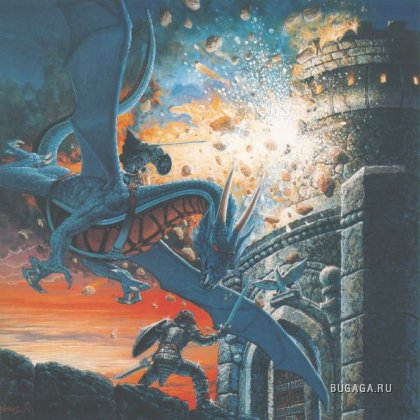 Драконы из мира Фэнтази