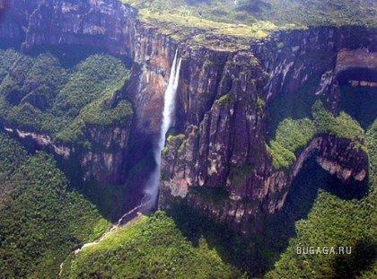 Самый высокий водопад в мире - Angel Falls 9 фото + видео