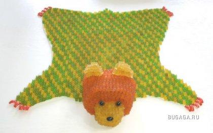 Поделки из желеобразных медвежат (8 фото)