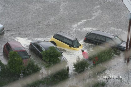 Потоп в городе Кишиневе. 14.06.2008