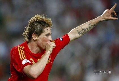 Сборная Испании - чемпион Европы по футболу