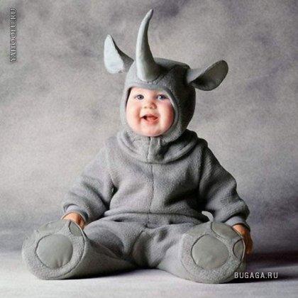 Дети в Костюмах Животных (позитиФФ)