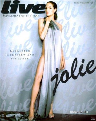 Анджелина Джоли. Журнал LIVE.