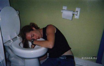 Вот почему девушкам противопоказан алкоголь!!!.