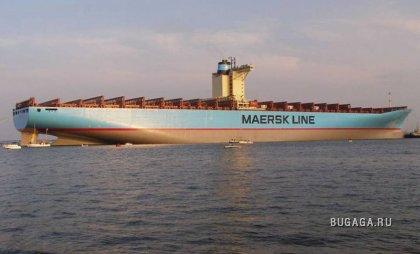 """Датский контейнеровоз """"EMMA MAERSK"""""""