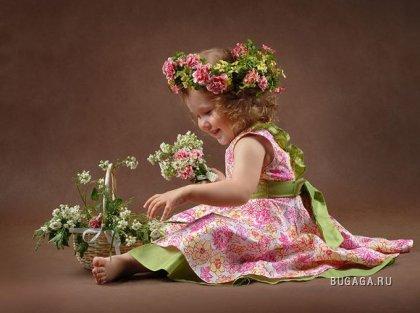 Летние цветочки сплетем в веночки