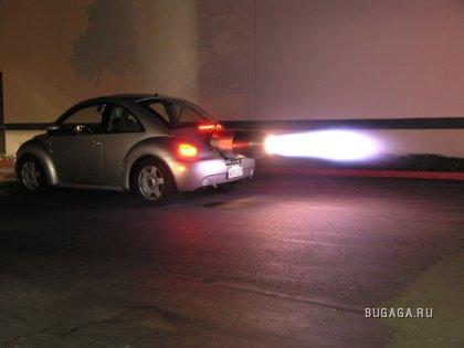 Volkswagen Beetle с реактивным двигателем