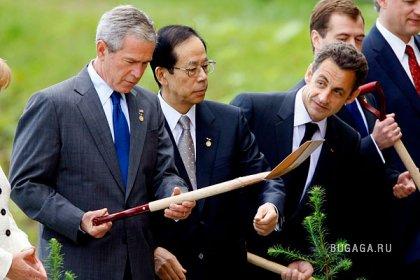 Буш меняет профессию