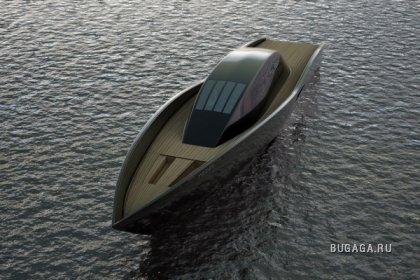 Проект Маэля Оберкампфа - Яхта Ворон (Raven Yacht)