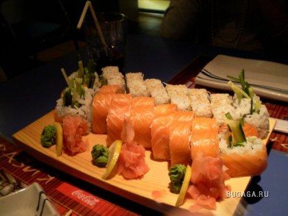 любителям суши и морепродуктов