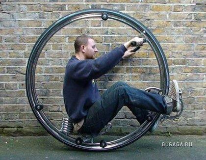 Моноцикл 21-ого столетия от Бена Вилсона
