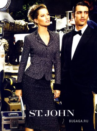 Gisele Bundchen for Saint John ad.2005