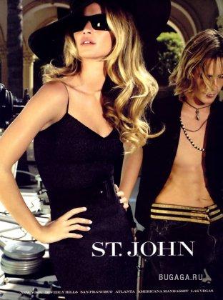 Gisele Bundchen for Saint John ad.2005