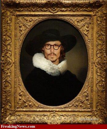 Фотожабы на картины Рембрандта