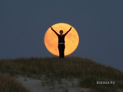 Фотолюбительские лунные фантазии