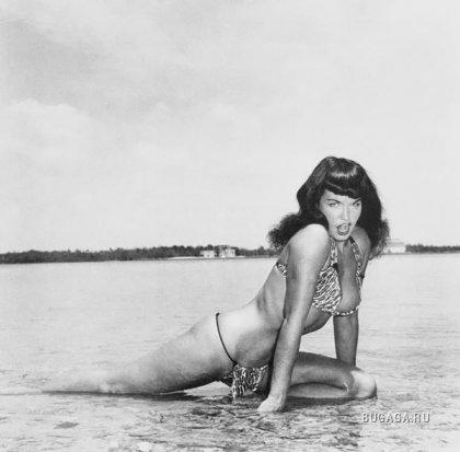 Секс символ эпохи 50-х -  Бетти Пейдж