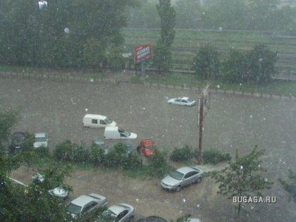 Потоп в г. Кишиневе 31.07.2008