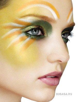 Радужный make-up