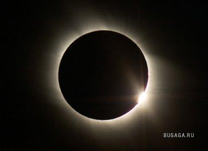 Солнечное затмение 1 августа 2008 (Новосибирск)