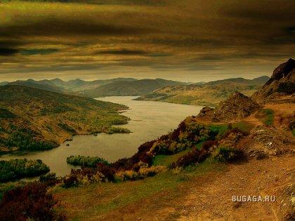Ландшафты Шотландии