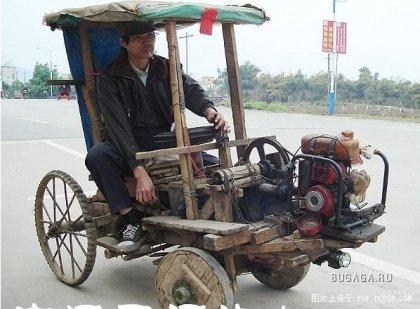 Шанхайский экологически-чистый авто :-)