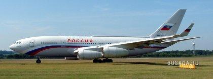 Частный самолет Путина