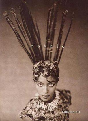 Naomi Campbell для Vogue Italy 1996