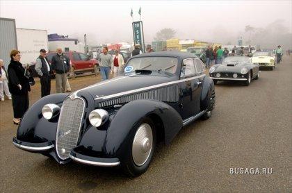 Выставка и аукцион ретро-автомобилей в Монтерее 2008