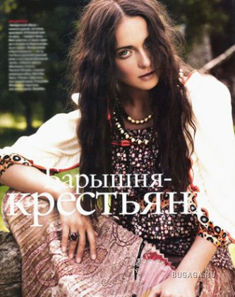 Малахольная барышня-крестьянка Анна Снаткина
