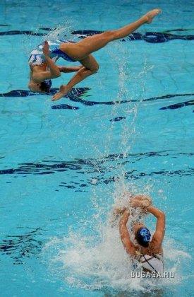 Соревнования по синхронному плаванию на Олимпиаде-2008