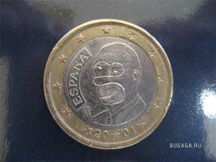 Именная монета Гомера Симпсона