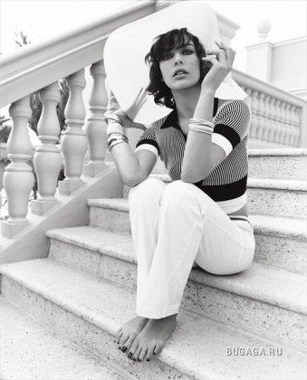 Милла Йовович для Vogue