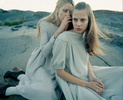 The Nordic Light - Vogue Nippon (October 2006)