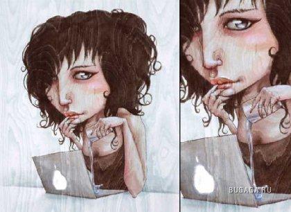 Милые рисунки Lauren Javor