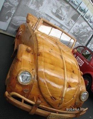 Машины сделанные из дерева