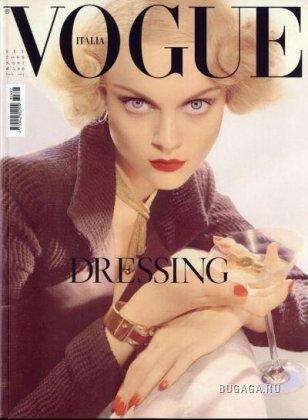 Viktoriya Sasonkina by Steven Meisel для Vogue Italia (Сентябрь 2008)