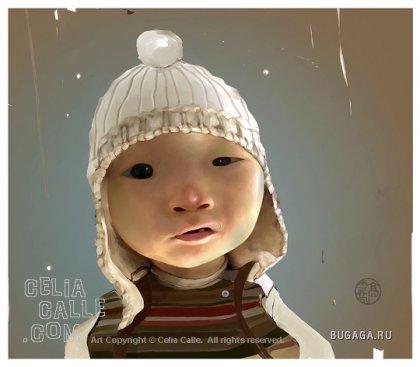 Иллюстратор Celia Calle