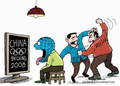 Западные карикатуры на Россию