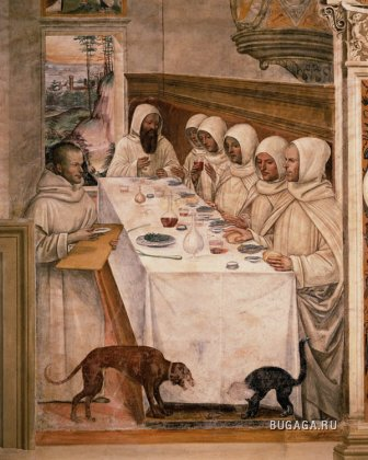 Фотожаба на фреску