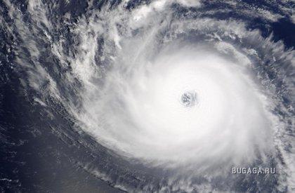 Ураганы – Красивый вид сверху