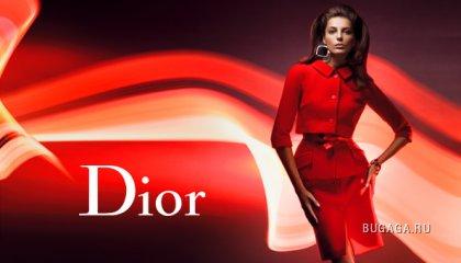 Daria Werbowy для Christian Dior f/w 2008-9 Ads