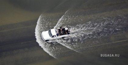 Последствия урагана в Америке