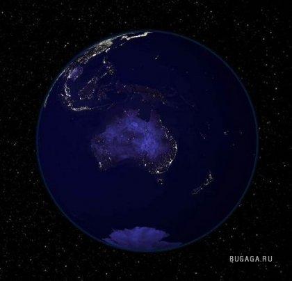 Планета Земля (ночь)