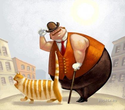 Иллюстратор Денис Зильбер