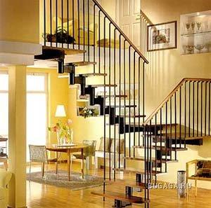 Лестницы - необычные дизайнерские решения