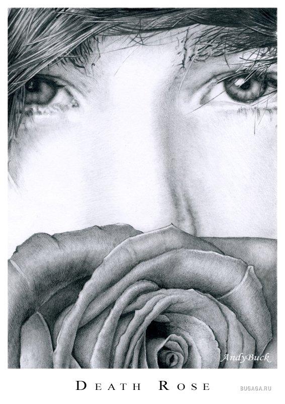 красивые рисунки карандашом женской попы